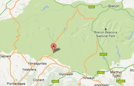 Get directions to Penycae Inn on Google maps
